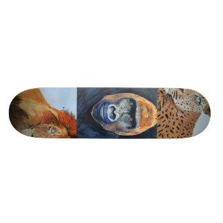 Wildernis van het skateboard van Afrika