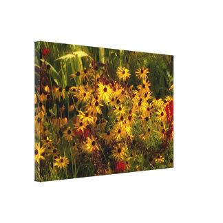 Wildflower Verpakt Canvas