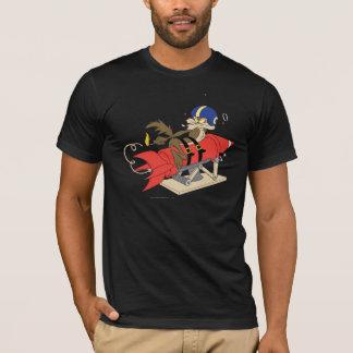 Wile E. Coyote Launching Rode Raket T Shirt