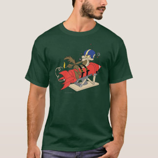 Wile E. Coyote Launching Rode Raket T Shirt