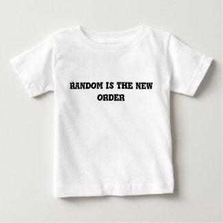 Willekeurig is de Nieuwe Tekst van de Orde Baby T Shirts