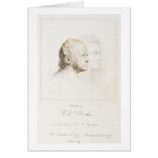 William Blake (1757-1827) in de Jeugd en Leeftijd  Wenskaart