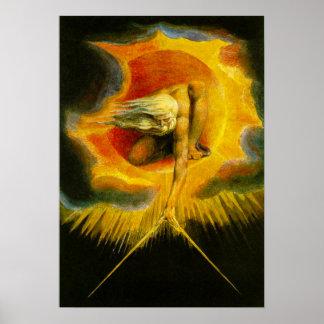 William Blake Ancient van het Poster van Dagen