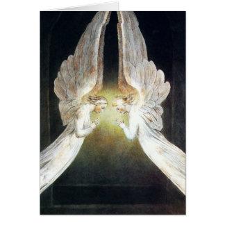 William Blake Angels Note Card Kaart