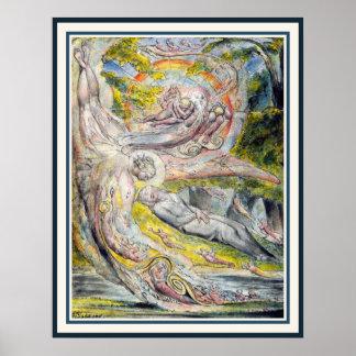William Blake Art: De Geheimzinnige Droom van Poster
