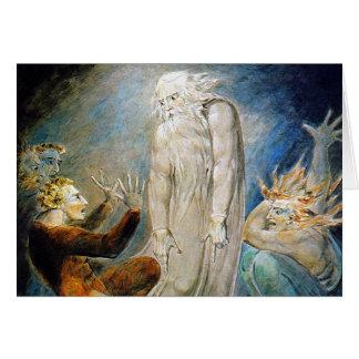 William Blake Card: De Geheimzinnige Droom van Wenskaart