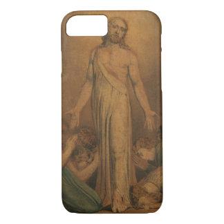 William Blake - Christus die aan de Apostelen iPhone 7 Hoesje