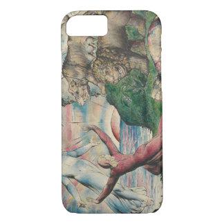 William Blake - Dante die van de drie Dieren lopen iPhone 7 Hoesje
