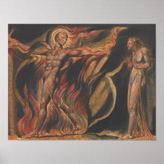 William Blake - Jeruzalem, Bord 26, Dergelijke Poster