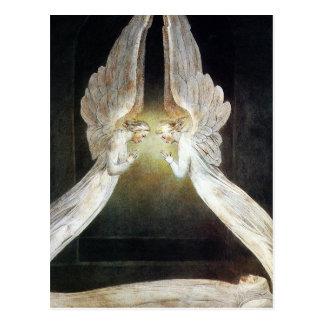 William Blake Postcard: Christus bewaakte door Briefkaart