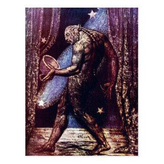 William Blake Postcard:  Spook van een Vlo Briefkaart