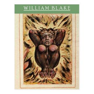 William Blake Urizen Postcard Briefkaart