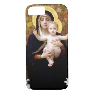 William Bouguereau- Madonna van de Lelies iPhone 8/7 Hoesje
