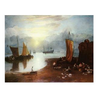 William Turner- Sun Rising door Vagour Briefkaart