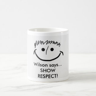 Wilson zegt de Inspirerend Mok EERBIED TOONT!