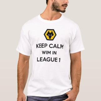 Wim in Liga 1 WWFC T Shirt