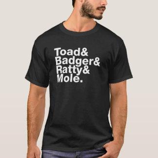 Wind in het Overhemd van Wilgen T Shirt