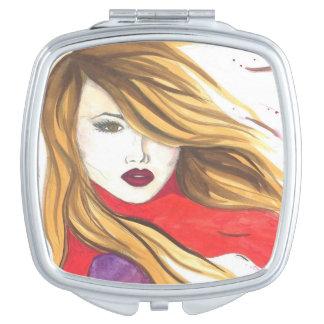 Wind Make-up Spiegel