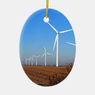 Wind mills.JPG Keramisch Ovaal Ornament