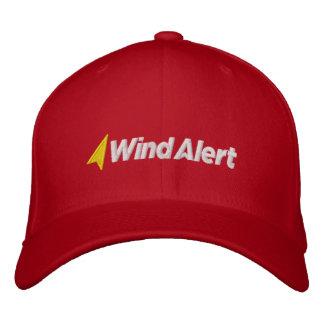 WindAlert Geborduurd pet Geborduurde Pet