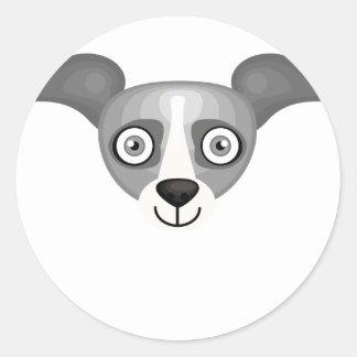 Windhond - Mijn Oase van de Hond Ronde Sticker