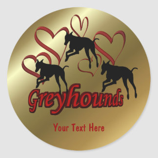 Windhonden en de Rode Sticker van de Hond van