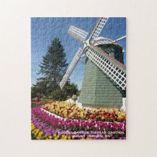 Windmolen & Tulpen (Vallei Skagit) Foto Puzzels