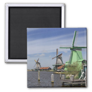 Windmolen, Zaanse Schans, Holland, Nederland 2 Magneet
