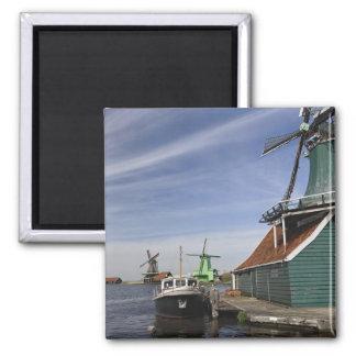 Windmolen, Zaanse Schans, Holland, Nederland Magneet