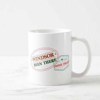 Windsor daar gedaan dat koffiemok