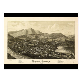 Windsor Vermont (1886) Briefkaart