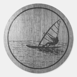 Windsurfing Ronde Sticker