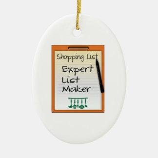 Winkelende deskundige de lijstmaker van de Lijst Keramisch Ovaal Ornament