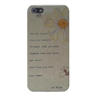 Winnie het Pooh Citaat, origineel ontwerp iPhone 5 Cases