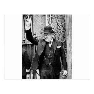 Winston Churchill Briefkaart