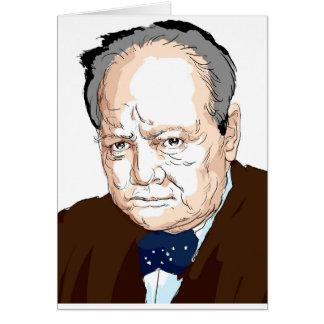 Winston Churchill Kaart