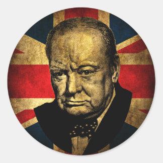 Winston Churchill Ronde Sticker