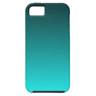 Wintertaling aan Gradiënt Aqua Tough iPhone 5 Hoesje