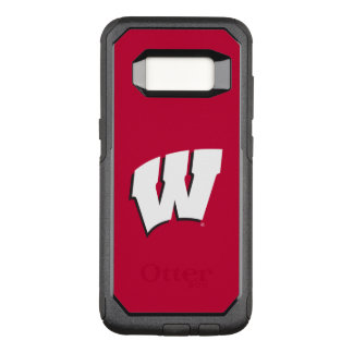 Wisconsin | Universiteit van het Logo van OtterBox Commuter Samsung Galaxy S8 Hoesje