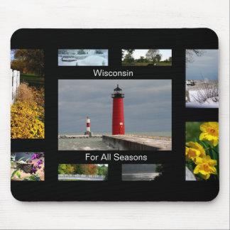 Wisconsin voor Alle Seizoenen Muismat