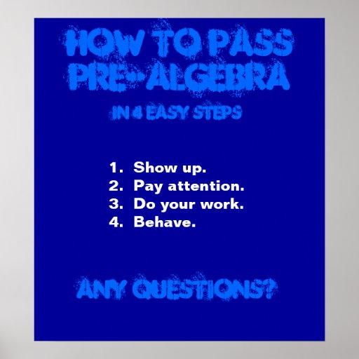 wiskunde poster
