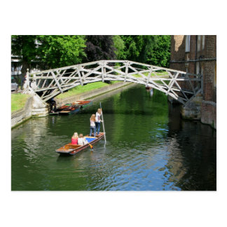 Wiskundige Brug, Cambridge Briefkaart