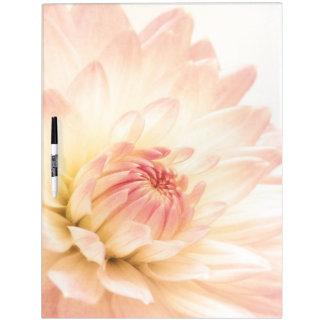 Wist de Roze Droge Bloem van de pastelkleur Raad Dry Erase Whiteboard