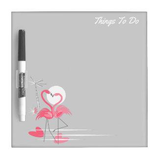 Wist de Zij droge Tekst van de Liefde van de Whiteboards