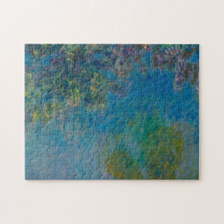 Wisteria door Claude Monet Legpuzzel