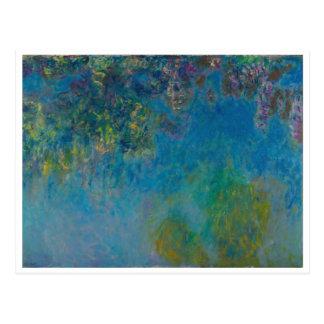 Wisteria door Monet Briefkaart