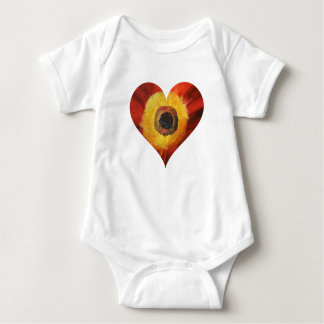 Wit Bodysuit van Jersey van het baby,