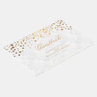 Wit Damast en het Gouden Stip van Confettien