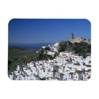 Wit Dorp van Casares, Andalusia, Spanje 2 Magneet