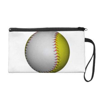 Wit en Geel Softball/Honkbal